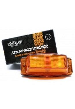 Omnius LED Doppelbrenner Leuchte orange (Kühlergrill)