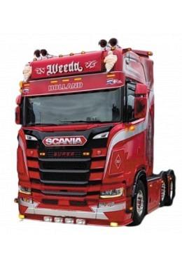 Schmutzabweiser Scania next Gen. P/G/R/S-Serie - Kleines Modell