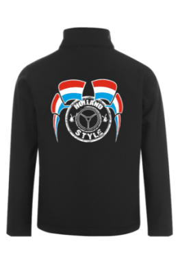 Softshelljacke bestickt Holland Style