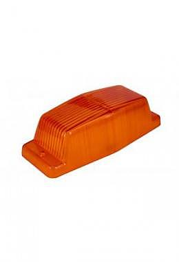 Ersatzglas orange für Doppelbrenner