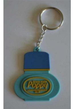 """Blauer Schlüsselanhänger """"Poppy"""""""