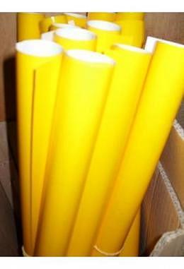 Gelbe Folie für Scheinwerfer