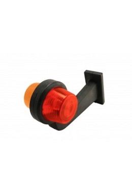 Positionsleuchte Gylle lang Rot/Orange